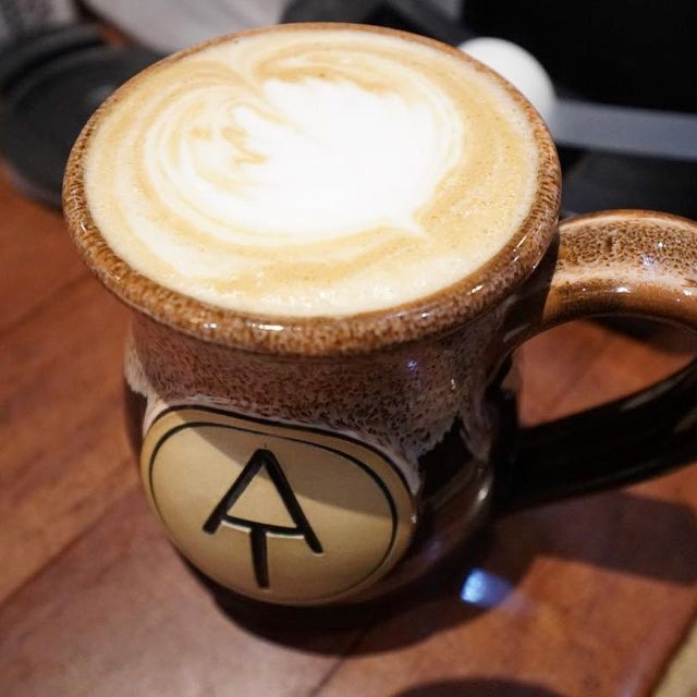 Living Raleigh Durham Feature- Common Ground Latte served in a true mug
