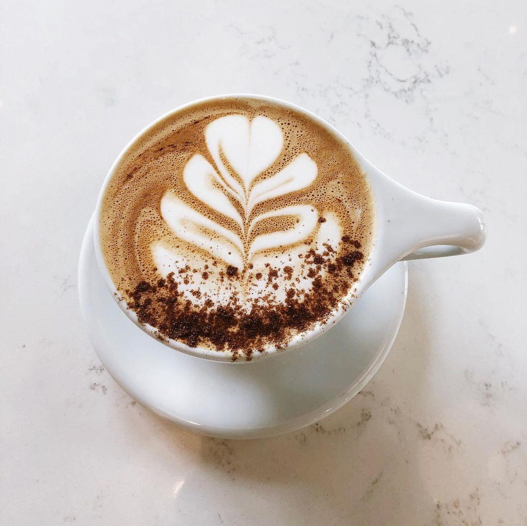 Living Raleigh Durham Featured Pumpkin Spice Drinks: Fount Coffee + Kitchen Pumpkin Spiced Latte