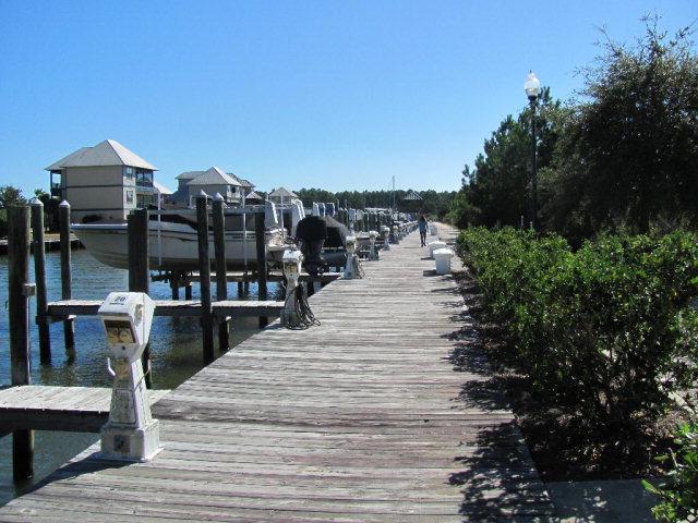 Intracoastal Waterway boat slips