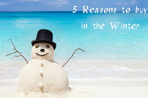 5 reasons to buy in the winter