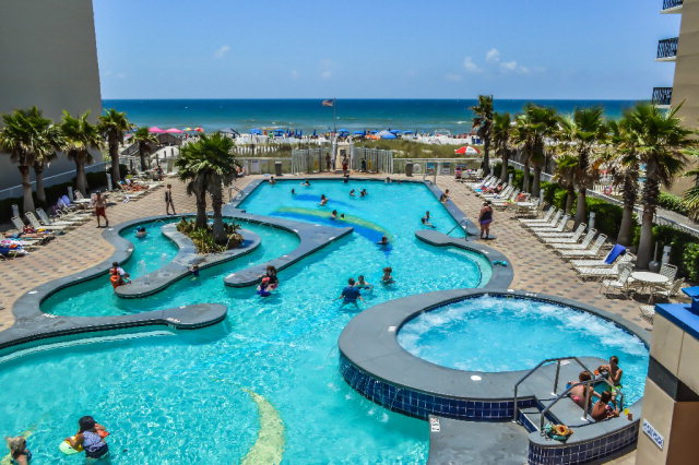 Crystal Tower Gulf Shores Lazy River