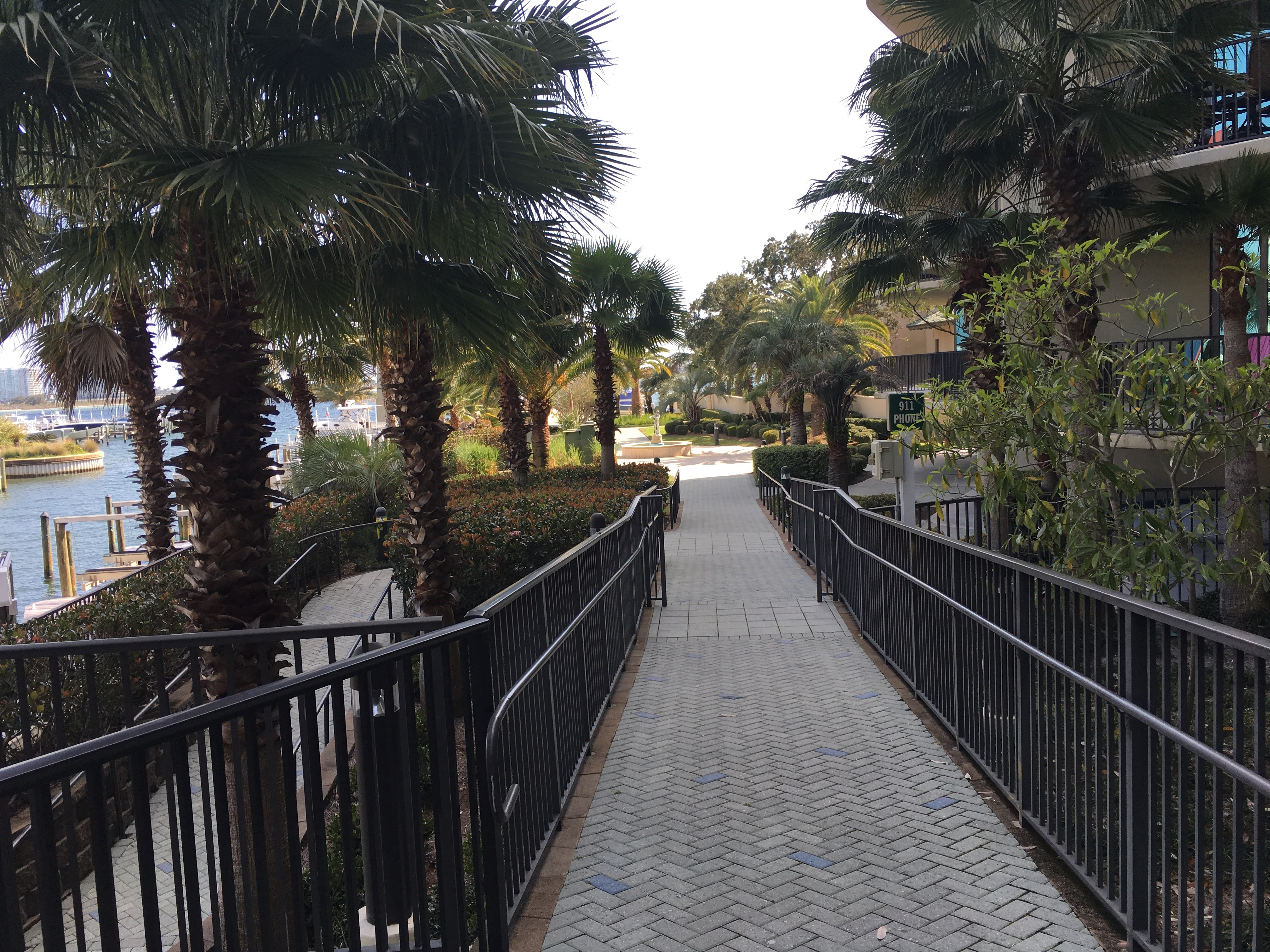Phoenix on the Bay II - Walkway to the docks