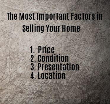 Most Important Factors in Selling Your Home