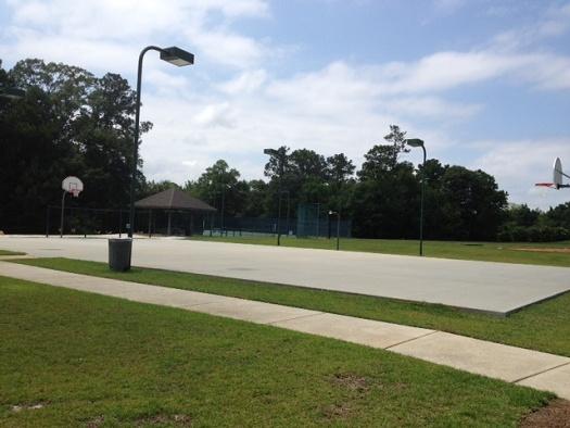 Timbercreek basketball court