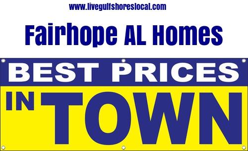 Best Real Estate Prices in Fairhope AL