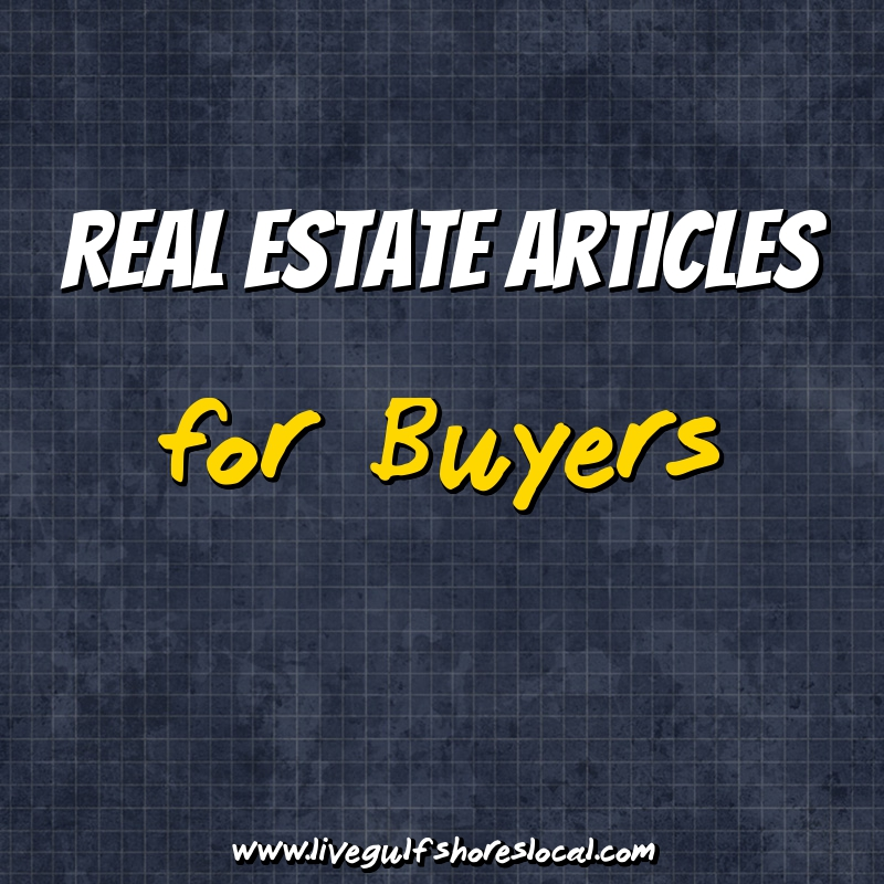 Real Estate Articles for Buyers