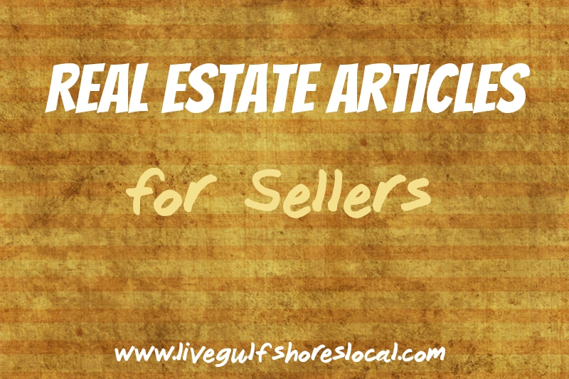 Real Estate Articles for Sellers