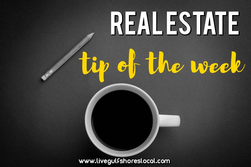 Real estate tip of the week