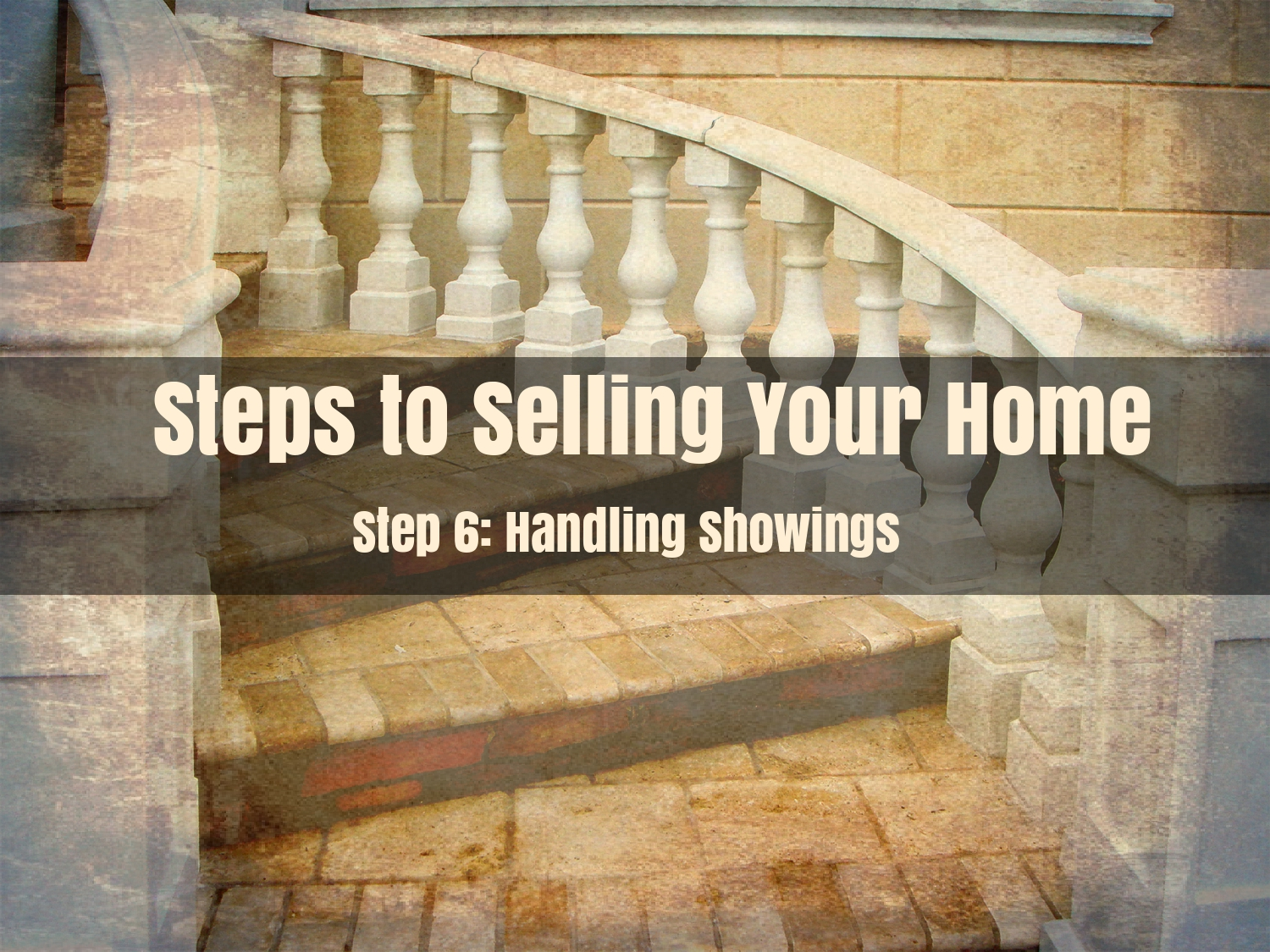 Handling Showings on your home