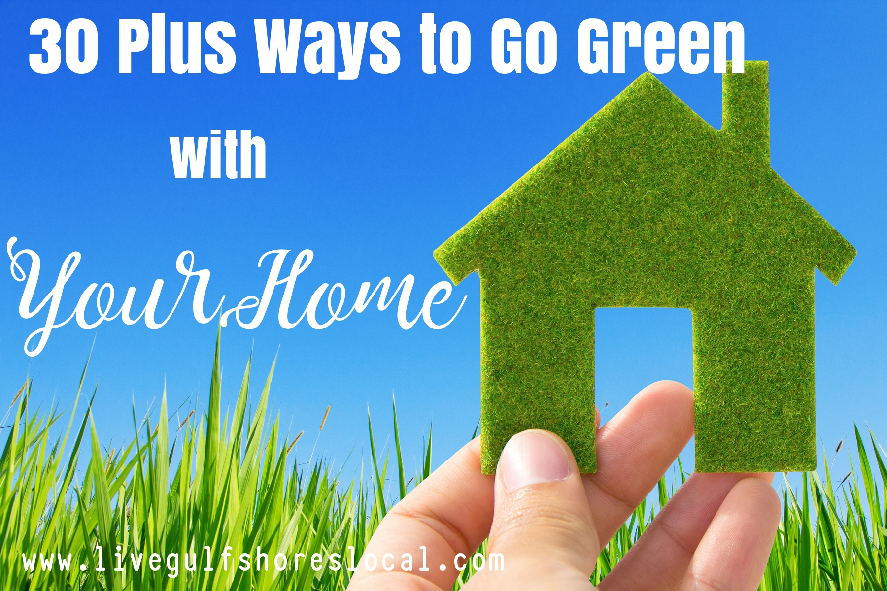 30 Ways to Go Green with Your Home