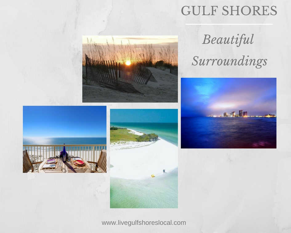 Gulf Shores Beautiful Surroundings Collage