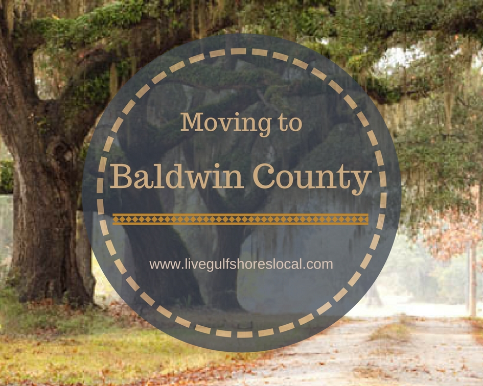 Moving to Baldwin County