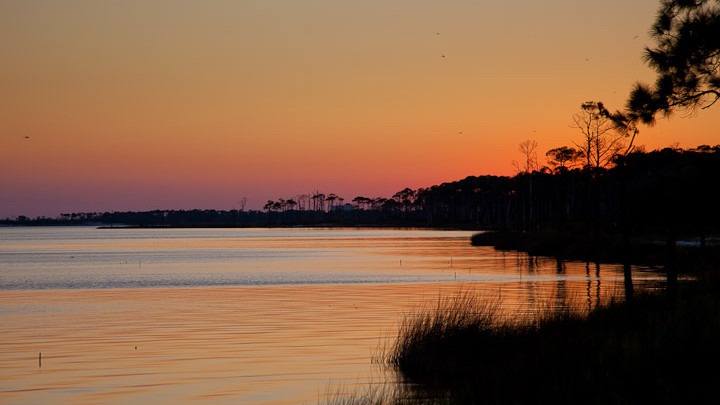 Gulf Shores Bay Sunset