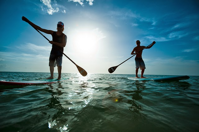 Gulf Shores paddleboarding