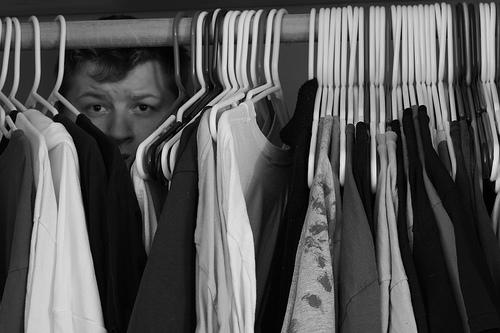 Hiding in Closet