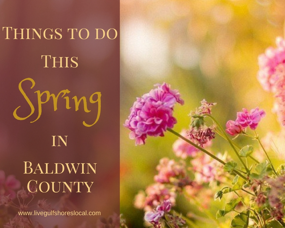 Things to Do This Spring in Baldwin County