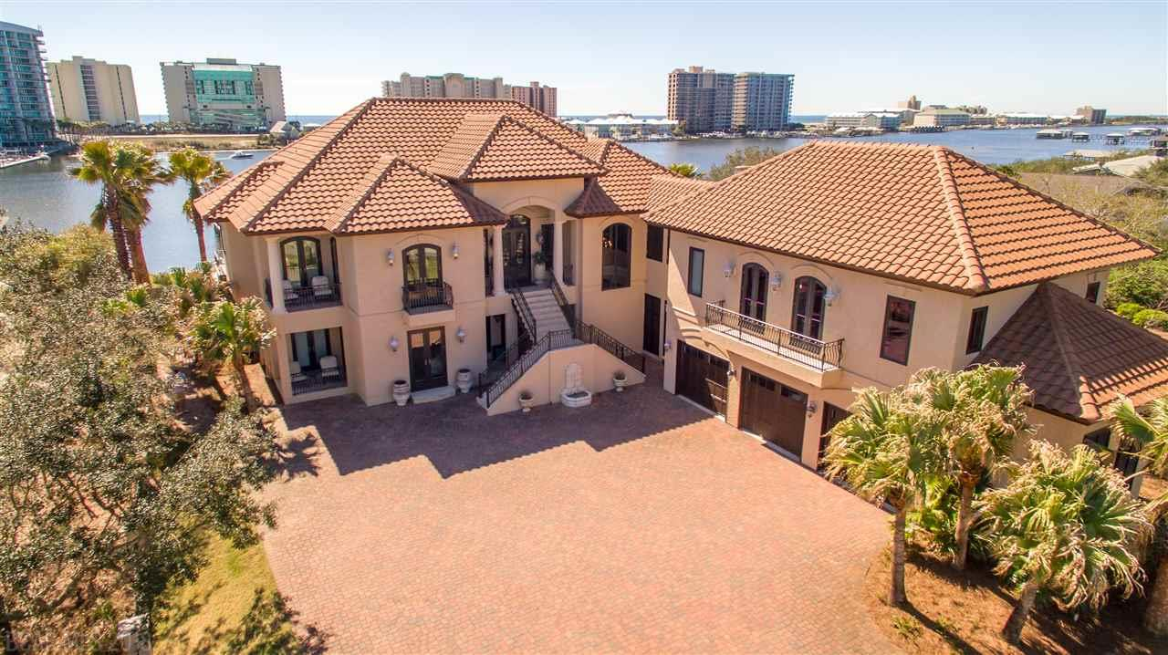 Mediterranean Style Home Orange Beach