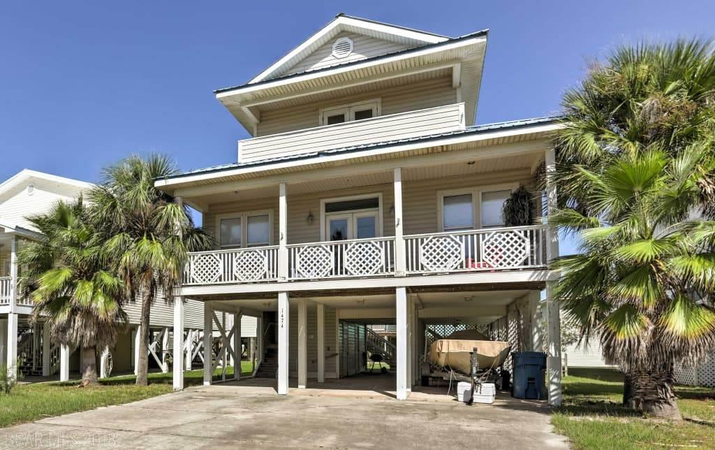 Raised Beach Style Home Gulf Shores