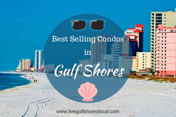 Best Selling Condos in Gulf Shores - April 2018