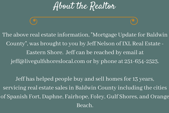Jeff Nelson - Mortgage Update