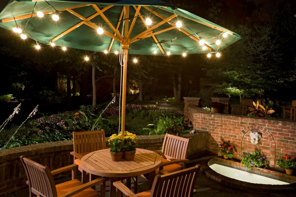 With An Inexpensive And Versatile Option, String Lights Can Be Used To Add  Ambiance To An Outdoor Dining Or Entertaining Area.