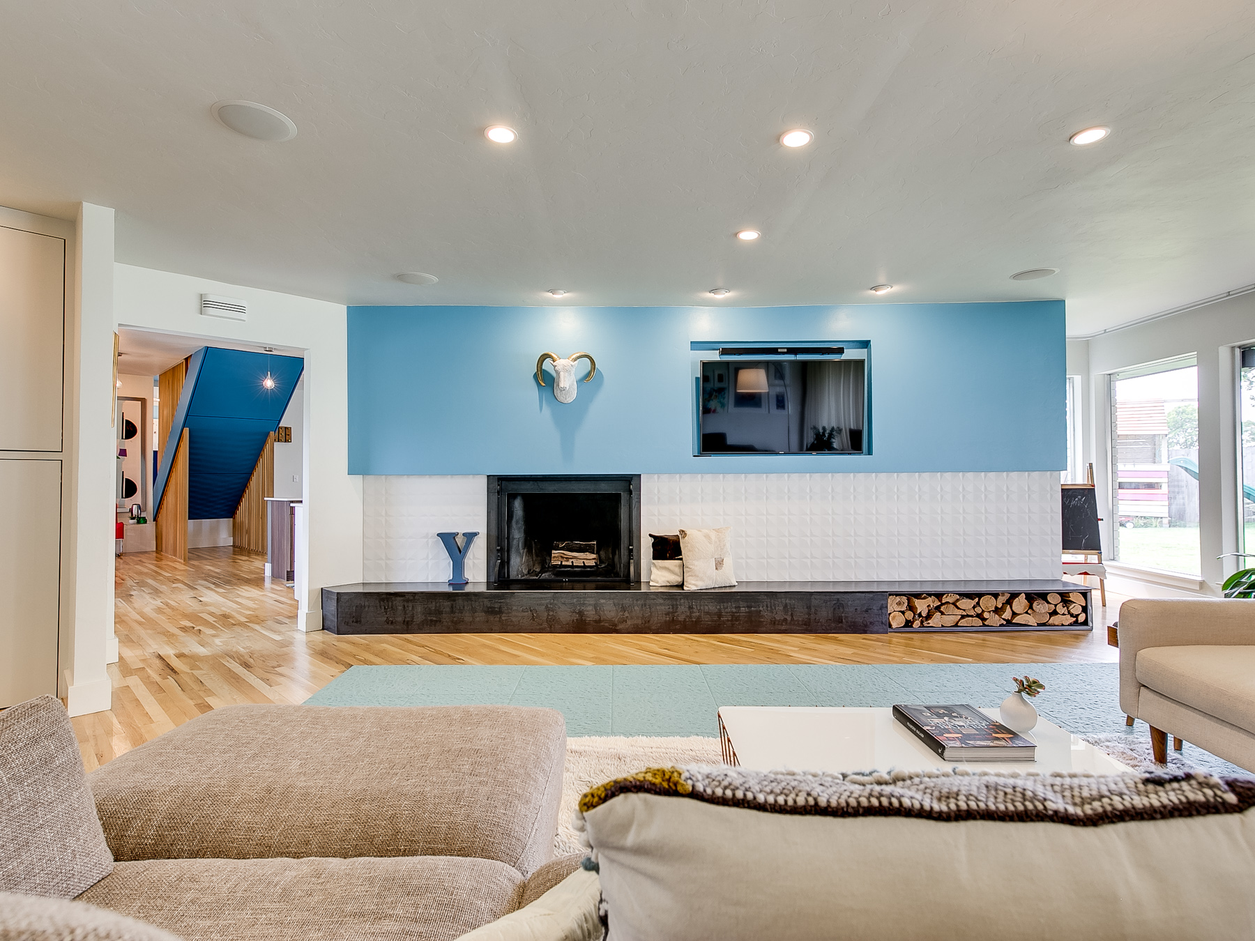 Modern Living Room in Glenbrook