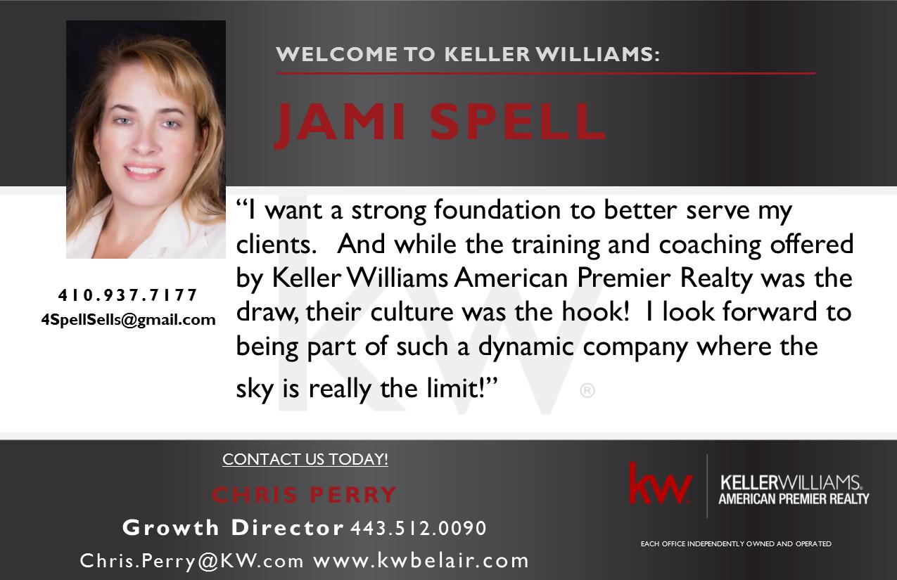 Jami Spell joins Keller Williams American Premier Realty