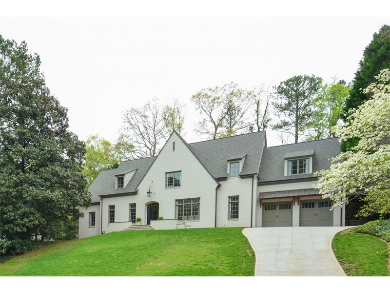 Homes For Sale In Chastain Park 4670 TALL PINES DRIVE ATLANTA GA 30327