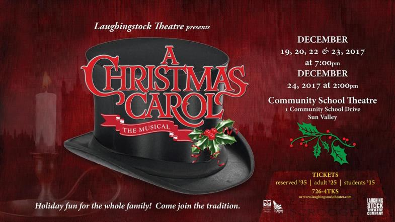 A Christmas Carol at the Community School Library