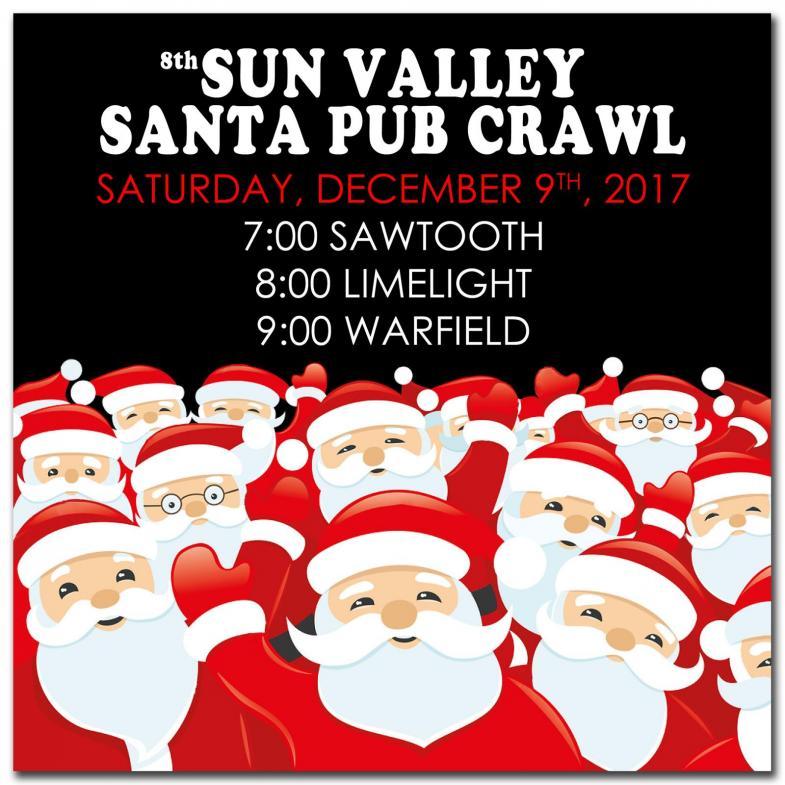 Sun Valley Santa Pub Crawl