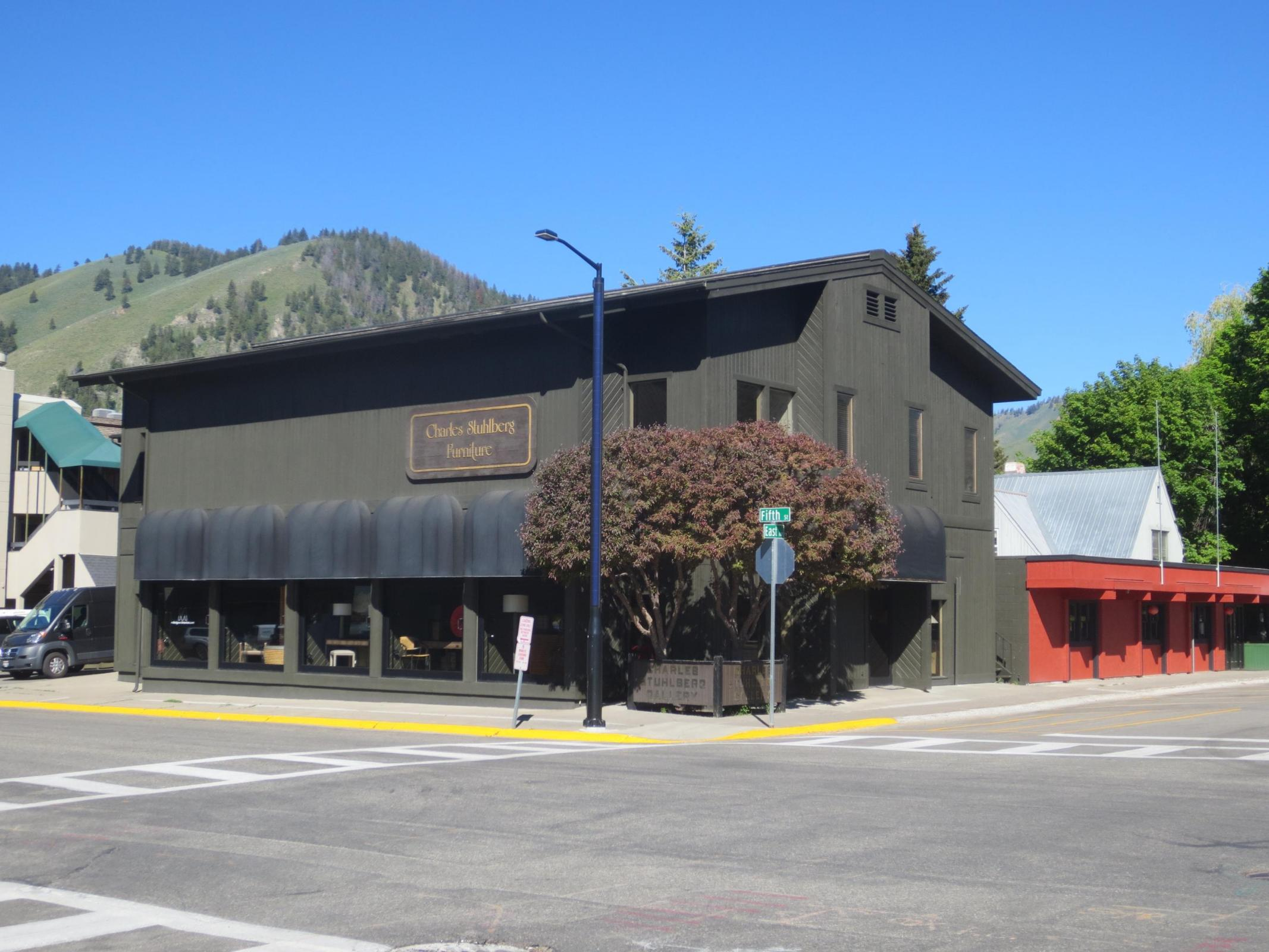The Stuhlberg building sold in Ketchum, Idaho
