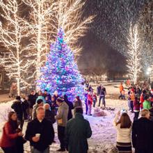 Tree Lighting Ceremony, Sun Valley, Idaho