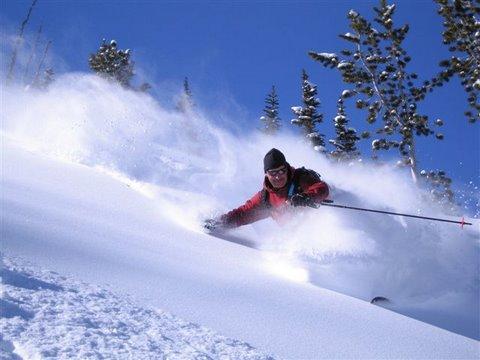 Back Country Skiing around Sun Valley, Idaho