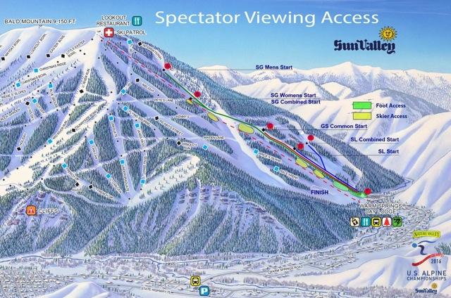 US National Alpine Ski Championships in Sun Valley, Idaho
