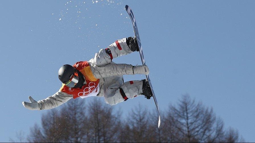 Chase Josey of Hailey, Idaho, at the 2018 Winter Olympics