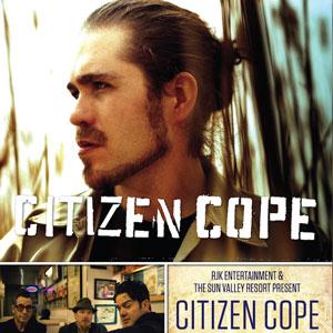 Citizen Cope in Sun Valley, Idaho