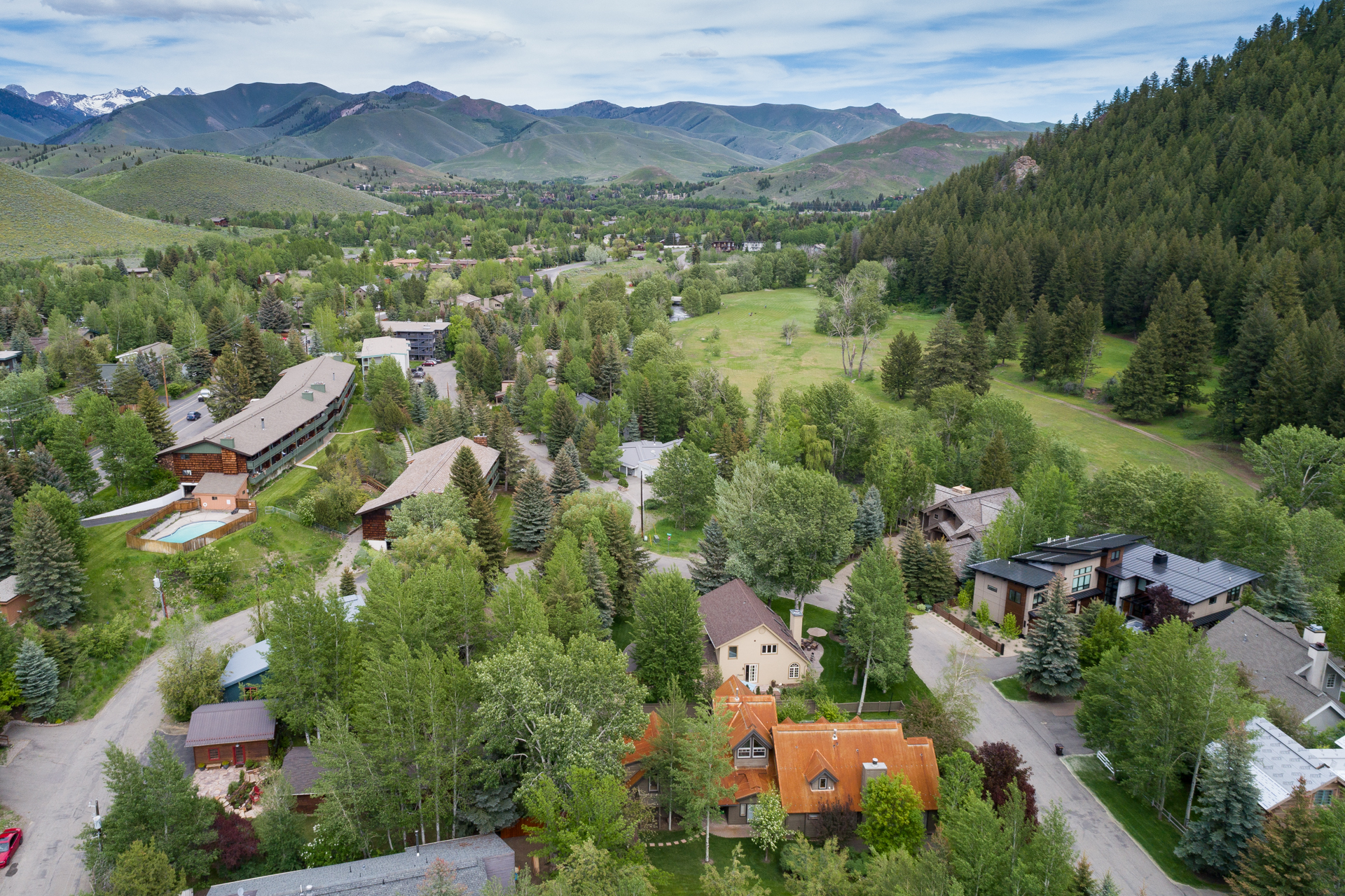 Featured Listing is close to downtown Ketchum and the Sun Valley Ski Lifts