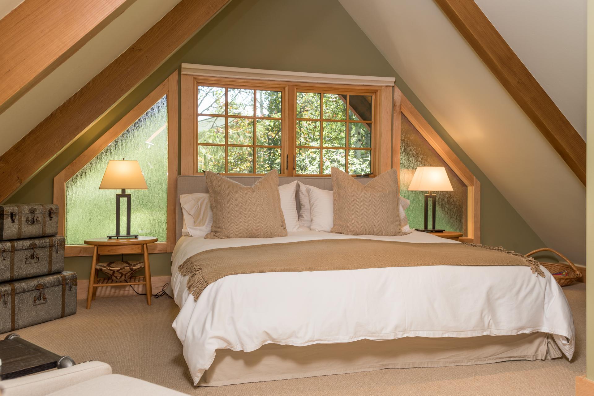 Master Bedroom at 325 Bald Mountain Road, Ketchum, Idaho