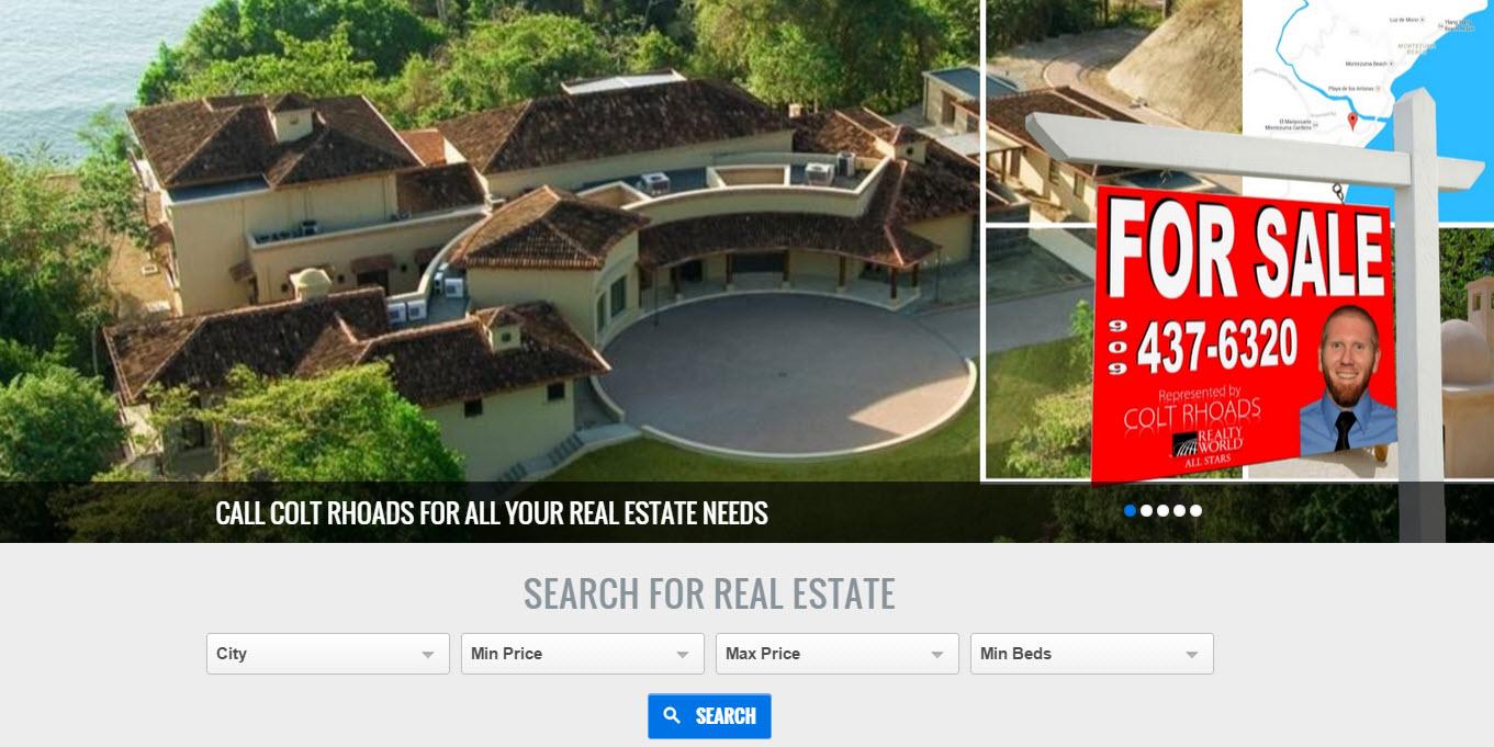 Colt Rhoads Realtor agent at Realty World ALL STARS