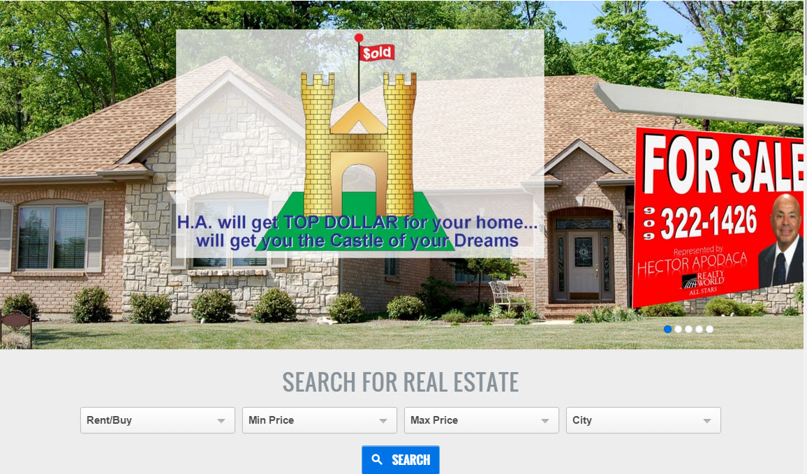 Hector Apodaca's Realty World All Stars Website