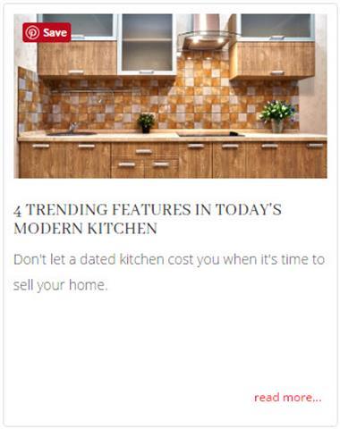 4 Trending Home Updates