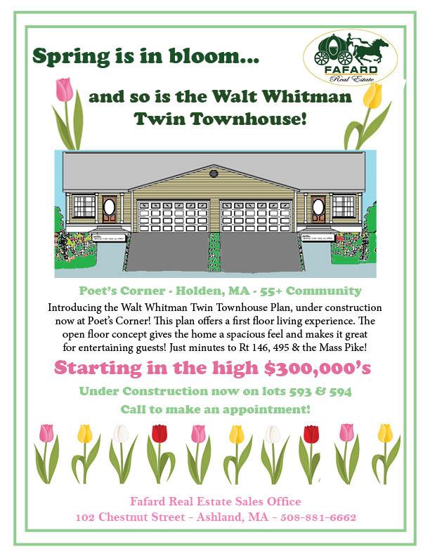 The Walt Whitman Twin Townhouse