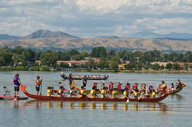 Dragon boat Denver