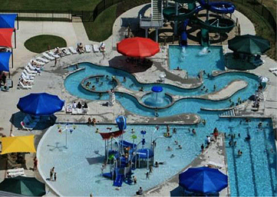Flower Mound Community Activity Center Splash Park