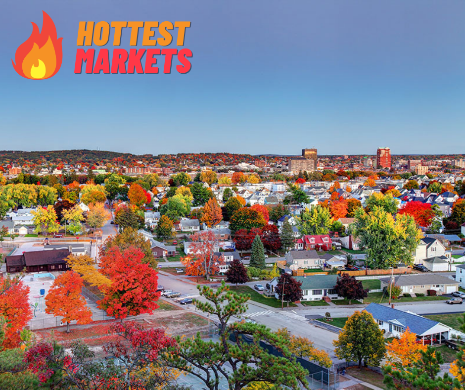 Manchester and Concord Hottest Markets in US