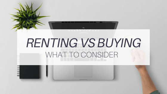 Renting Vs Buying A Home in Loudoun County: What To Consider