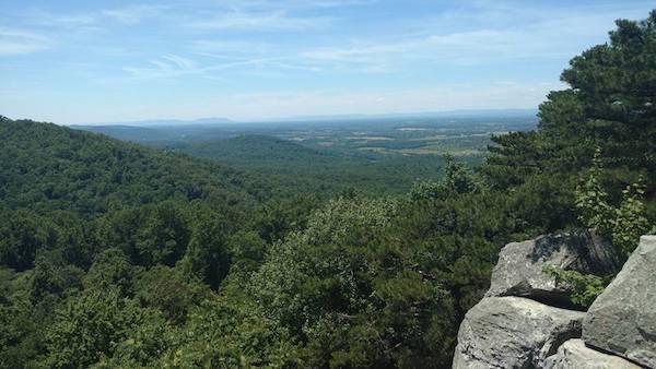 Hike Ravens Rock in West Virginia