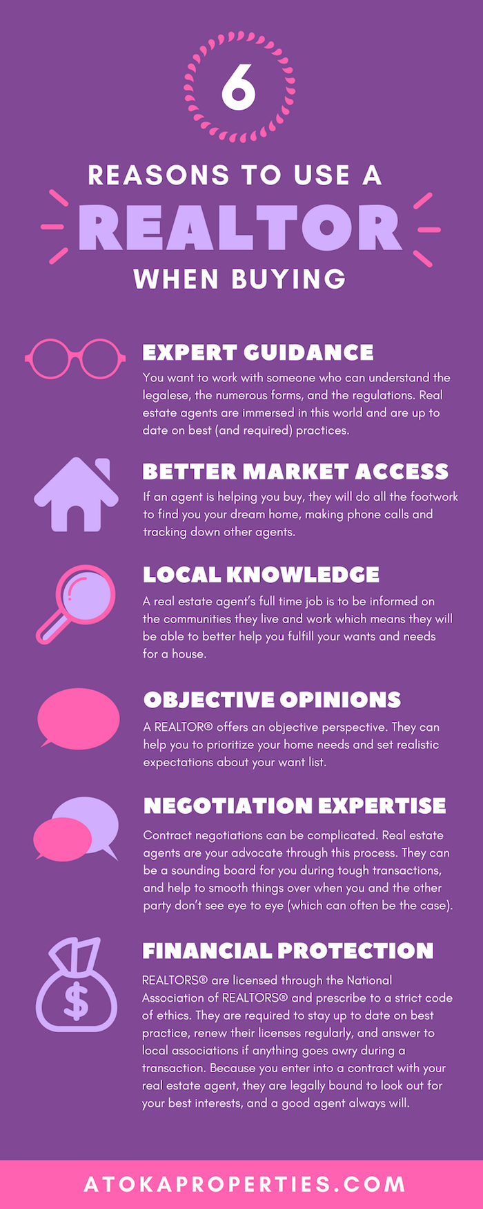 6 Reasons Working With A Realtor Benefits Buyers Middleburg Real Estate Atoka Properties