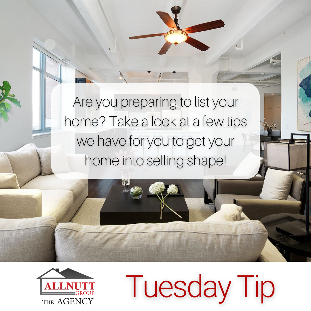 Tuesday Tip - Get Your Home into Selling Shape