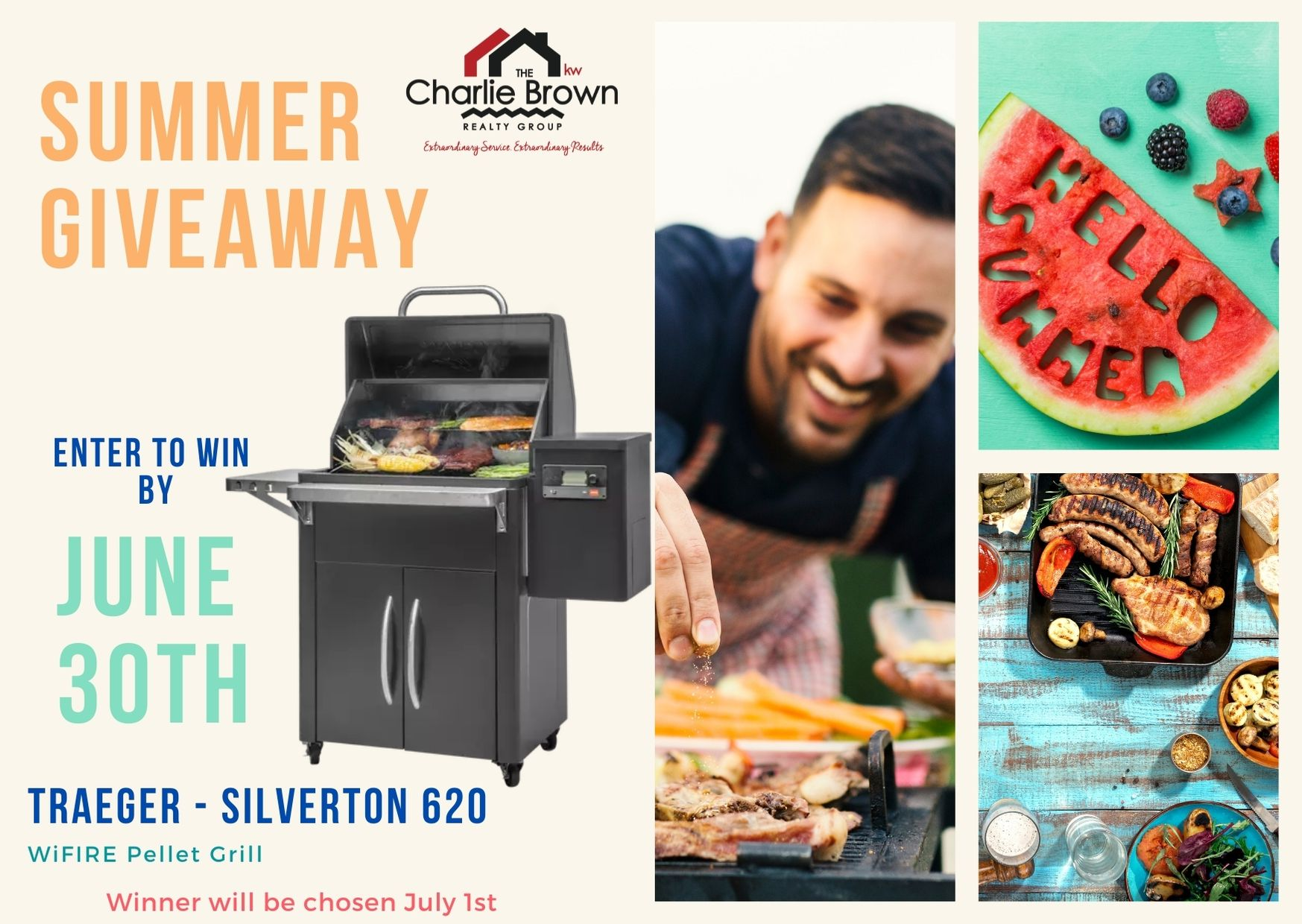 WIN WIN WIN!!! SUMMER GRILL GIVEAWAY!!!